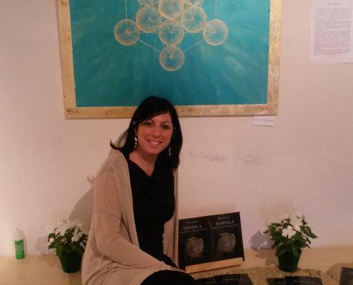 Mostra Ferrara 2015 - Cubo di Metatron e libro