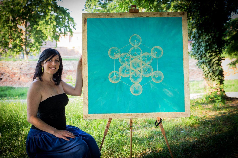 Alice Cristallo - Cubo di Metartron 1